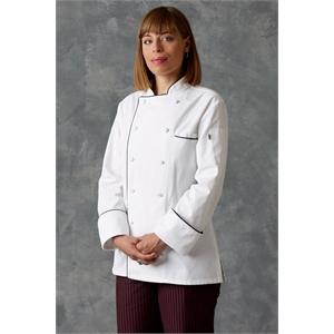 Napa for Women Chef Coat - White 4XL-6XL
