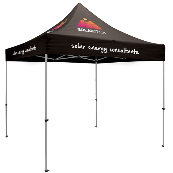 Premium Aluminum 10' Tent Kit (Imprinted, 6 Locations)