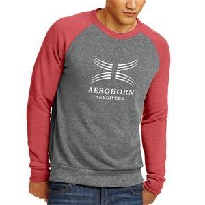 Alternative Men's Champ Colorblock Eco-Fleece Sweatshirt