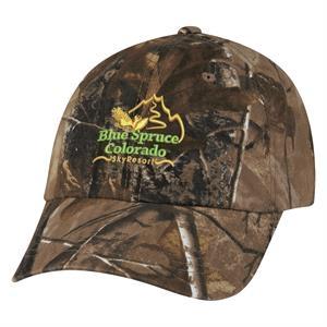 Realtree (TM) & Mossy Oak (R) Hideaway Camouflage Cap