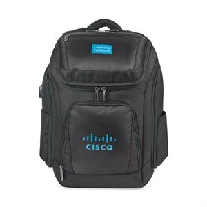 Travis & Wells™ Velocity Charging Computer Backpack