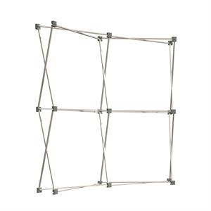 6' Show 'N Rise Curved Tabletop Frame & Faceplates
