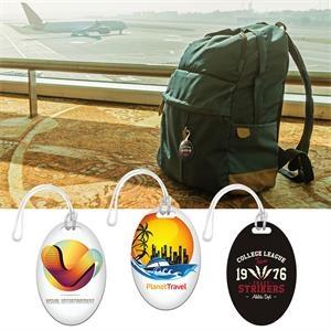 Digital Mini Oval Bag Tag 3