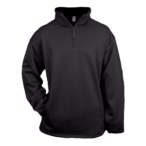 Youth Quarter Zip Poly Fleece Pullover