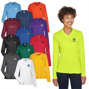 Team 365® Ladies' Zone Performance Long-Sleeve T-Shirt