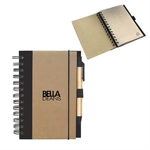 RECYCLED CARDBOARD NOTEPAD