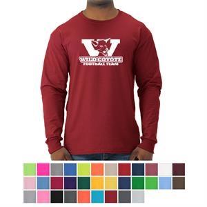 JERZEES- Dri-Power Long Sleeve 50/50 T-Shirt