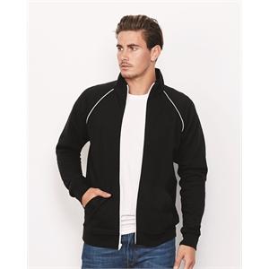 Piped Fleece Jacket