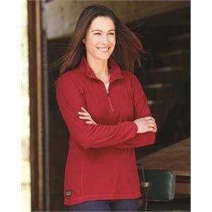 Women's Fusion Quarter-Zip Nano-Fleece Pullover
