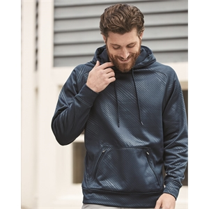 Volt Polyester Hooded Pullover Sweatshirt