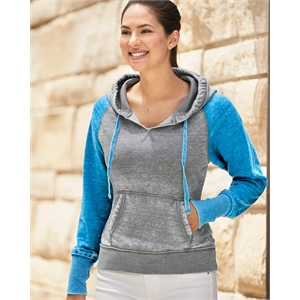 Women's Zen Fleece Raglan Hooded Sweatshirt