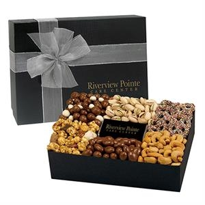 6 Way Deluxe Gift Box w/ Chocolate Bar - Savory Delight Box