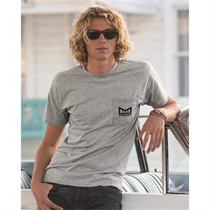 Fruit of the Loom® HD cotton t-shirt with a pocket.
