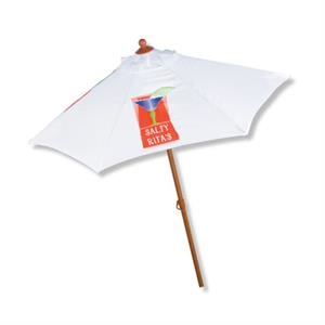 In Stock Aluminum 6 Foot Market Umbrella