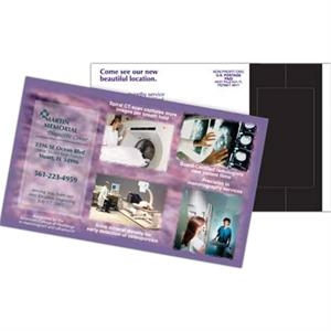 Perf 5-1/4 x 8-1/2 Direct Mail Magnet Postcard