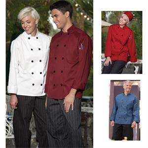 Long Sleeve Chef Coat - White