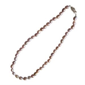 Pink Champagne Freshwater Pearl Necklace
