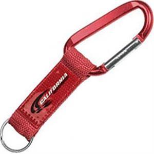 Steel Carabiner Key Tag