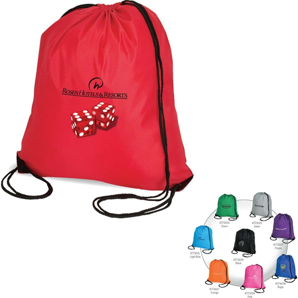 Drawstring Sport Tote Bag