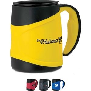 Olimpio 15 oz. Microwavable Double Wall Mug