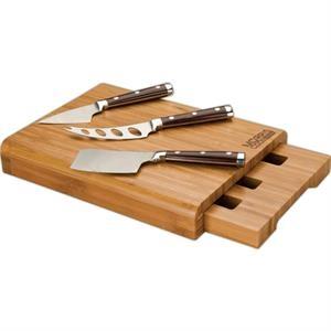 Bambu Bamboo Cheese Board Set