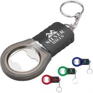 LED bottle opener keyring