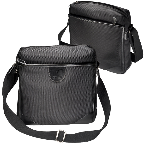 Leeman New York Eclipse Messenger Bag