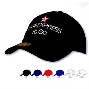 Brushed Heavy Cotton & Spandex Cap Fitted (Embroidered)