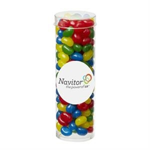 Small Tube with Clear Cap / Gourmet Jelly Beans