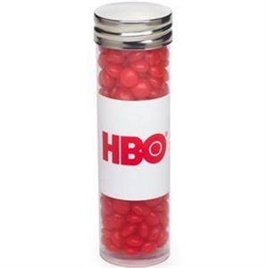 Large Tube with Silver Cap / Red Hots (R)