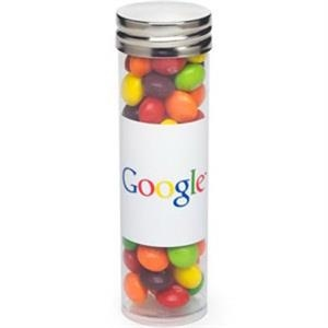 Large Tube with Silver Cap / Skittles (R)