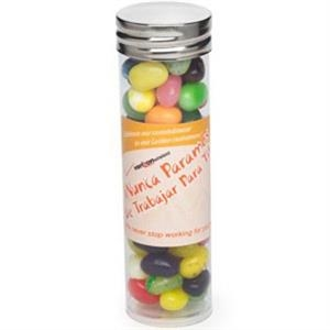 Large Tube with Silver Cap / Gourmet Jelly Beans