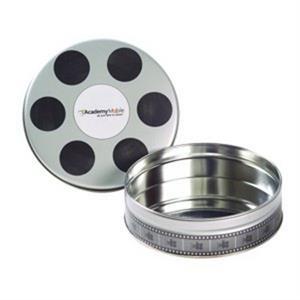Small Empty Film Reel Tin