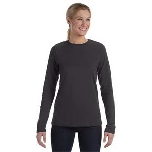 Ladies' Relaxed Jersey Long-Sleeve T-Shirt