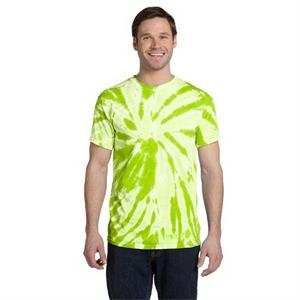 Adult 5.4 oz., 100% Cotton Twist Tie-Dyed T-Shirt