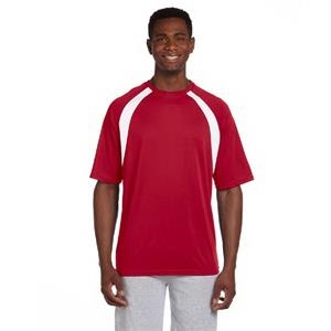 Adult 4.2 oz. Athletic Sport Colorblock T-Shirt