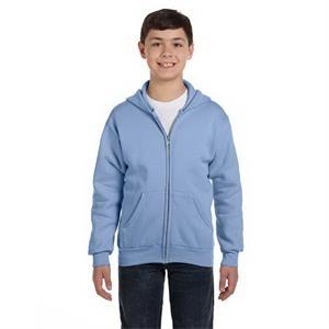 Youth 7.8 oz. EcoSmart(R) 50/50 Full-Zip Hood