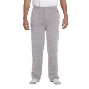 9 oz. Double Dry Eco(R) Open-Bottom Fleece Pant with Pockets