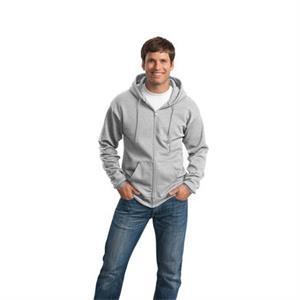 Port & Company - Core Fleece Full-Zip Hooded Sweatshirt.