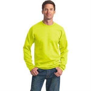Port & Company Tall Essential Fleece Crewneck Sweatshirt.