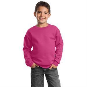 Port & Company - Youth Core Fleece Crewneck Sweatshirt.