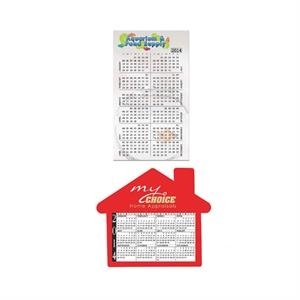Small and House Calendars Magnet